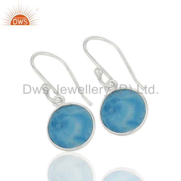 Exporter Turquoise Gemstone Sterling 92.5 Fine Silver Girls Earrings Suppliers