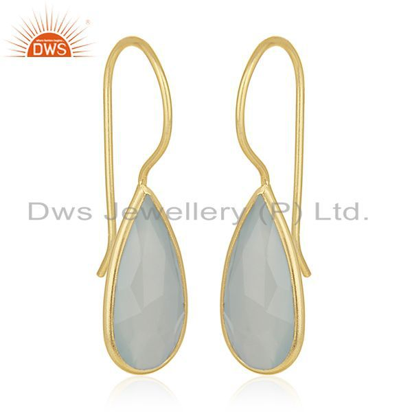 Exporter Handmade 925 Silver Gold Plated Earrings Jewelry Manufacturer for Private Labels