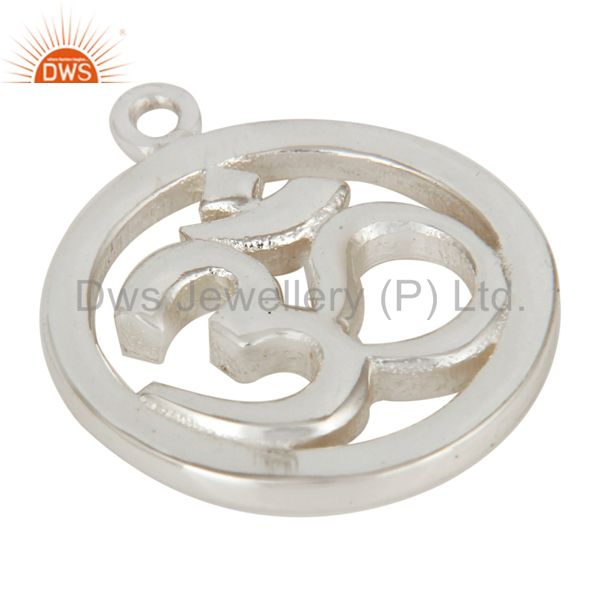 Exporter Silver Plated OM Charm Jewelry Assesories Findings
