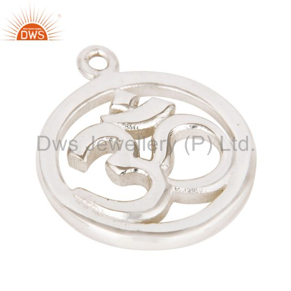 Exporter Silver Plated OM Charm Jewelry Finding Jewelry Assesories