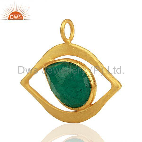 Exporter Handmade 925 Silver Gold Plated Gemstone Jewelry Findings Suppliers