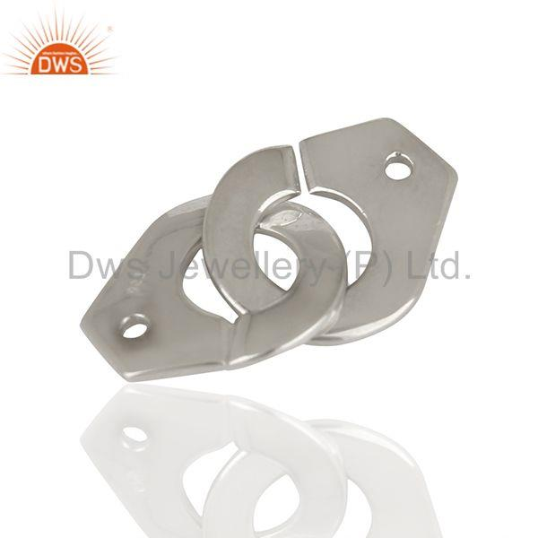 Exporter Solid 925 Sterling Silver Connector Jewelry Findings Manufacturer