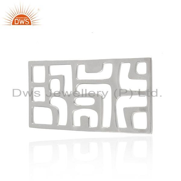 Solid 92.5 sterling silver designer jewelry findings manufacturer