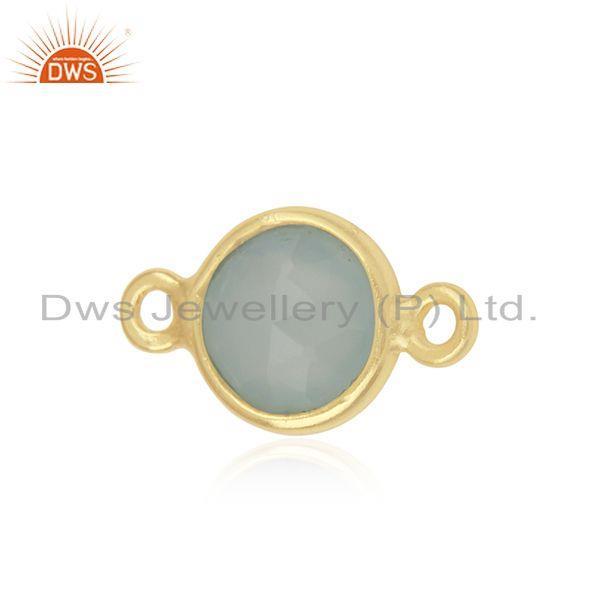 Exporter Sterling Silver Gemstone Jewelry Findings Connector Manufacture