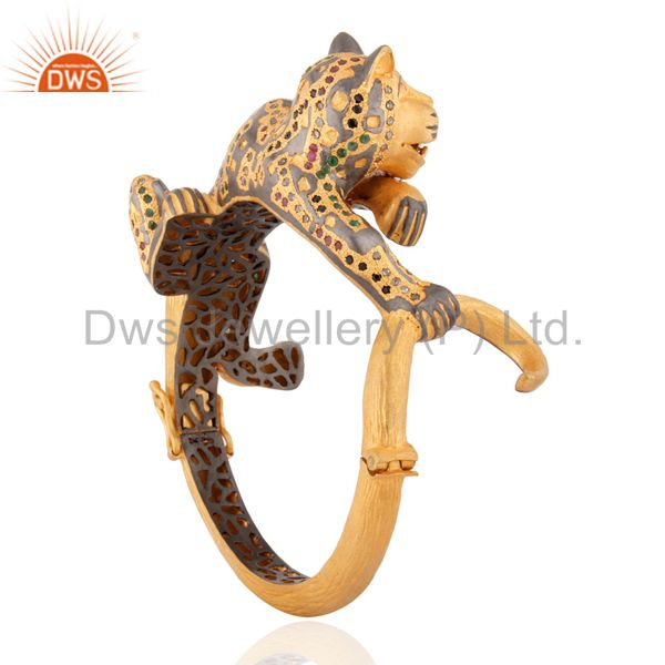 Supplier of Designer bangle jewelry diamond emerald ruby sapphire tiger bracelet