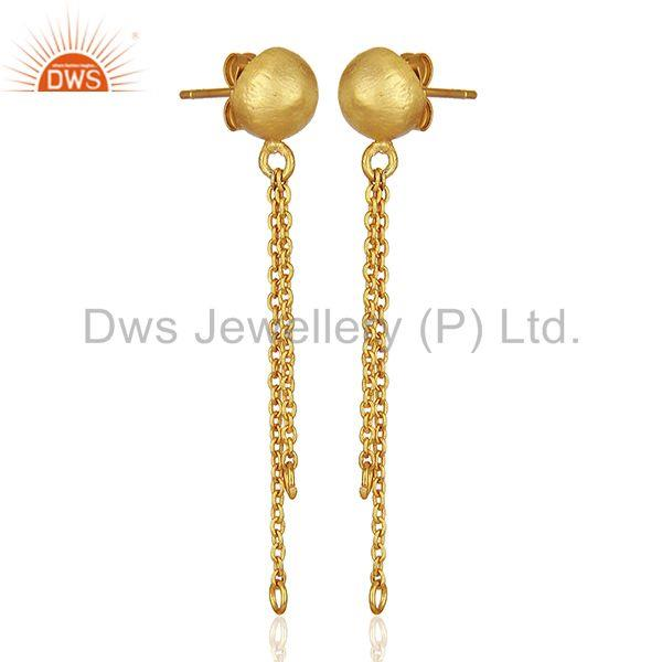 Exporter Handmade Gold Plated Brass Fashion Jewelry Findings Manufacturers