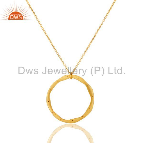 Exporter Branch pendent with stones on 16