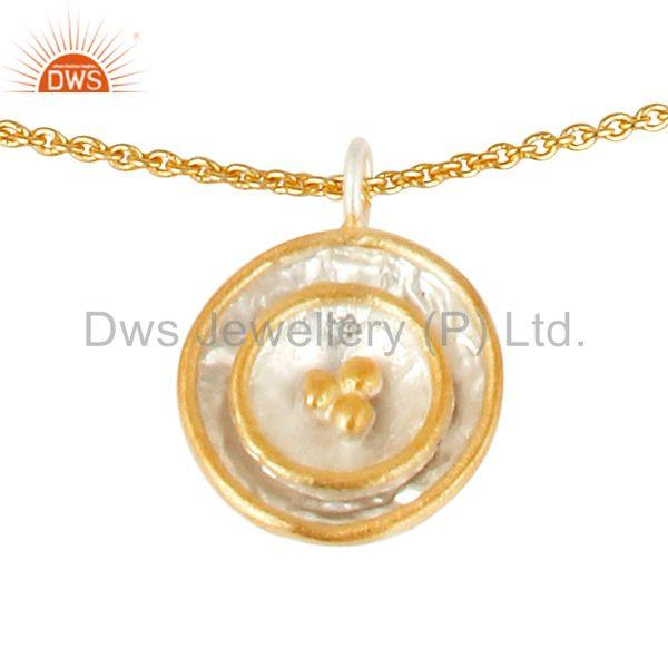 Exporter Multi Circle Brass Fashion Pendant Jewelry Manufacturer