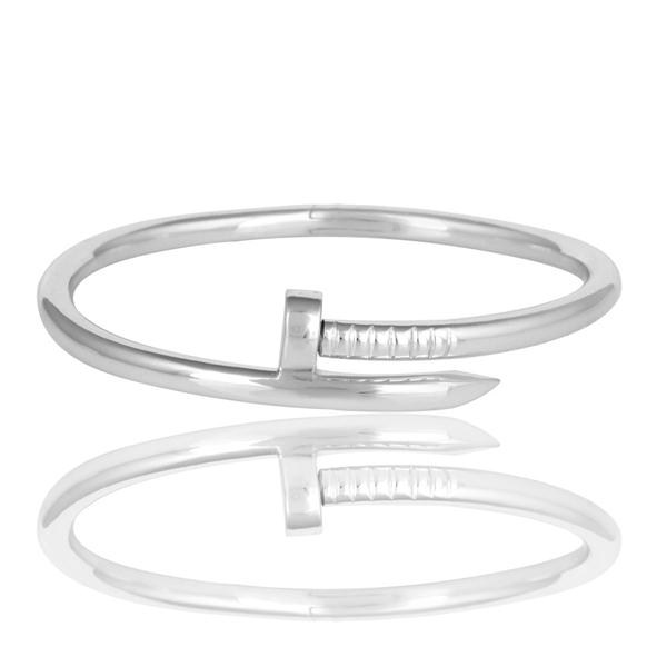 Supplier of Screw style cuff solid sterling silver cuff band bangle
