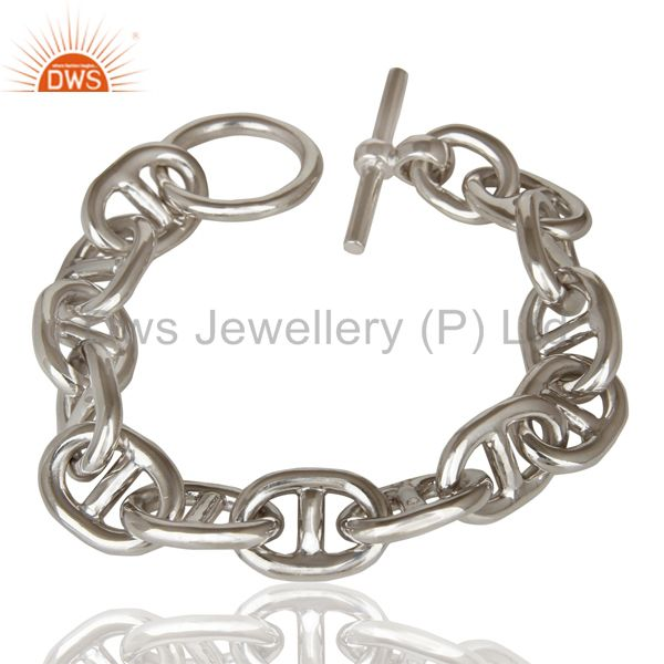 Exporter Ancre Collection 925 Sterling Silver White Rhodium  Handmade fine Jewellery