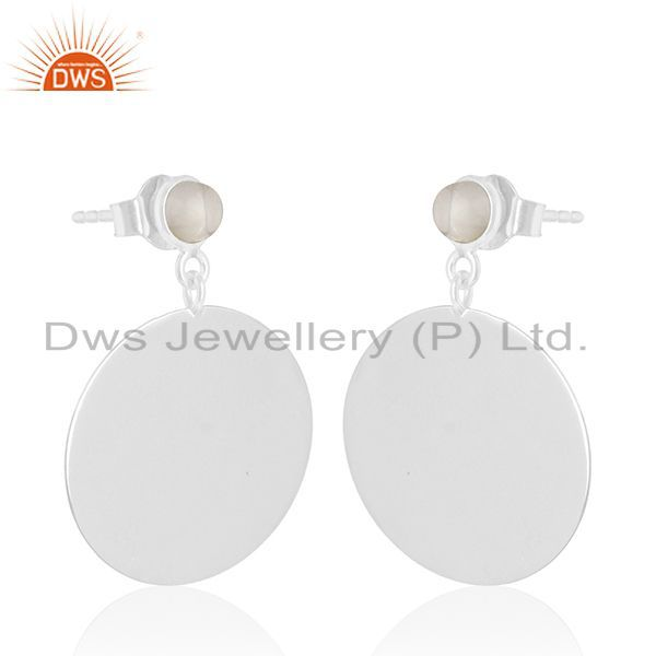 Exporter Handmade 925 Sterling Silver Gemstone Earrings Wholesale Supplier of Jewelry