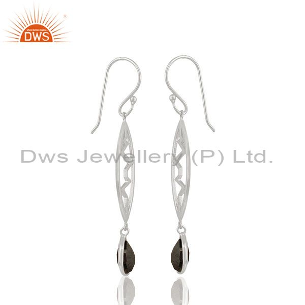 Exporter Hematite Heartbeat Collection Sterling Silver Earring