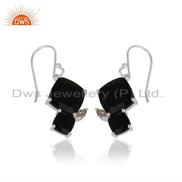 Exporter New Designer Sterling 92.5 Silver Earrings Manufacturer from India