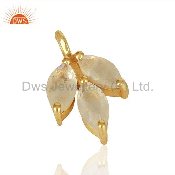 Exporter Solid 925 Silver Gold Plated Gemstone Jewerly Findings Manufacturer