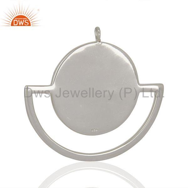 Exporter Mother of Pearl Gemstone Sterling Silver Pendant Jewelry Manufacturer