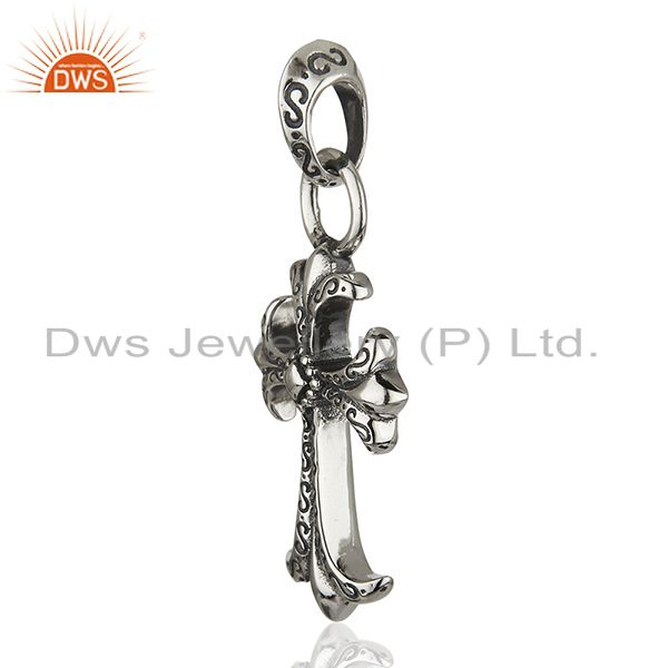 Exporter CH Cross 925 Sterling Silver Pendant And Necklace Jewelry