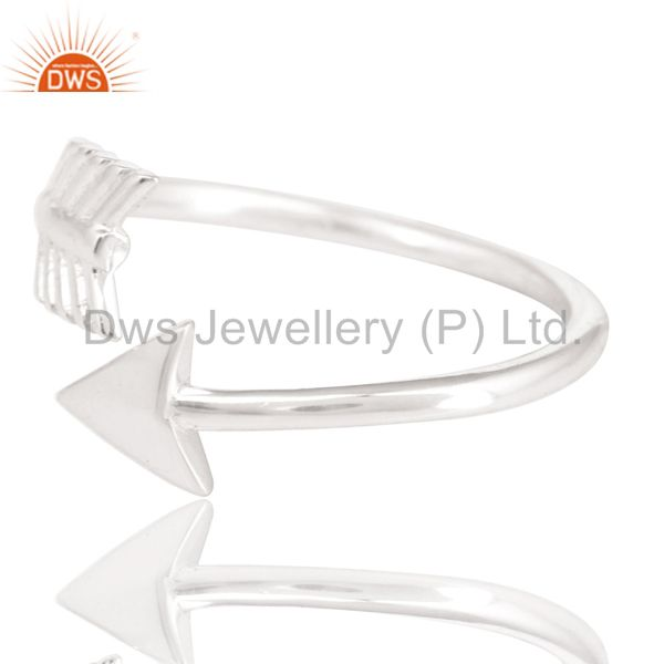 Exporter Solid 925 Sterling Silver Handmade New Fashion Design Stackable Ring Jewelry