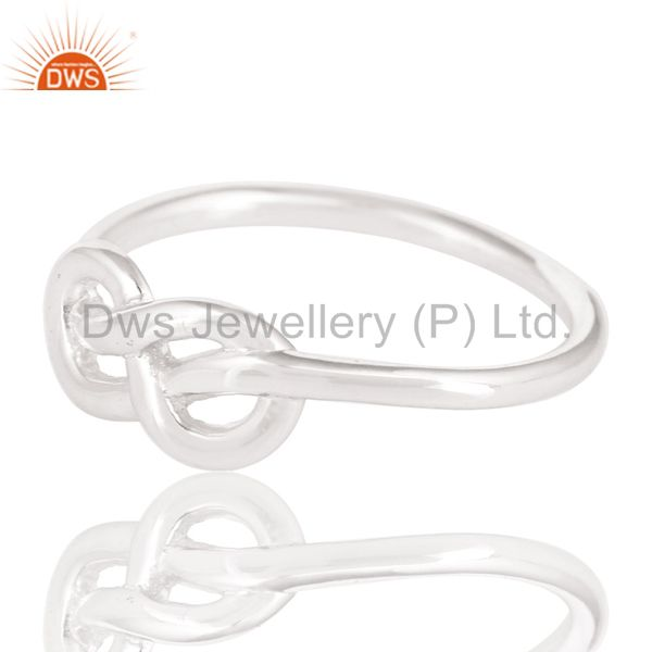 Exporter Handmade Solid 925 Sterling Silver Without Stone Beautiful Fashion Ring Jewelry