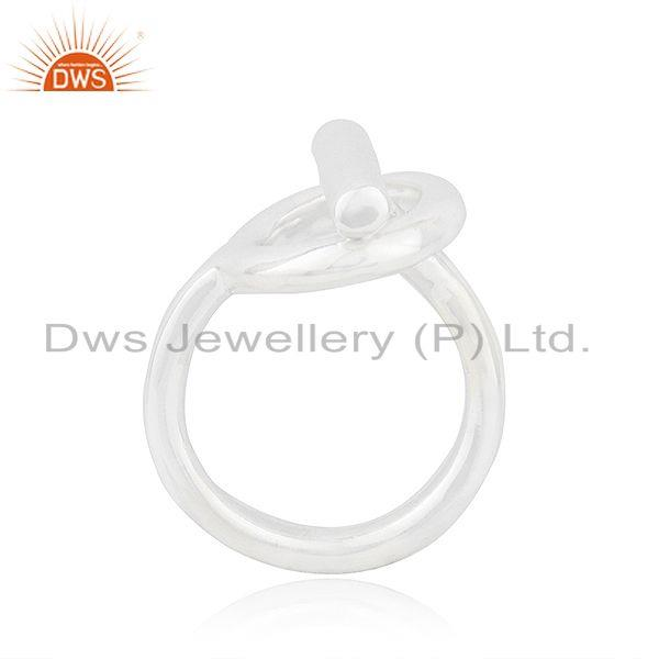 Exporter Handmade 925 Sterling Silver Fine Silver Designer Ring Wholesale Suppliers India