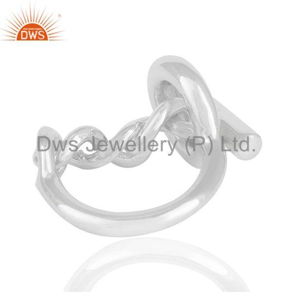 Exporter Fine Sterling Silver 2017 Designer Girls Rings Jewelry Manufacturers