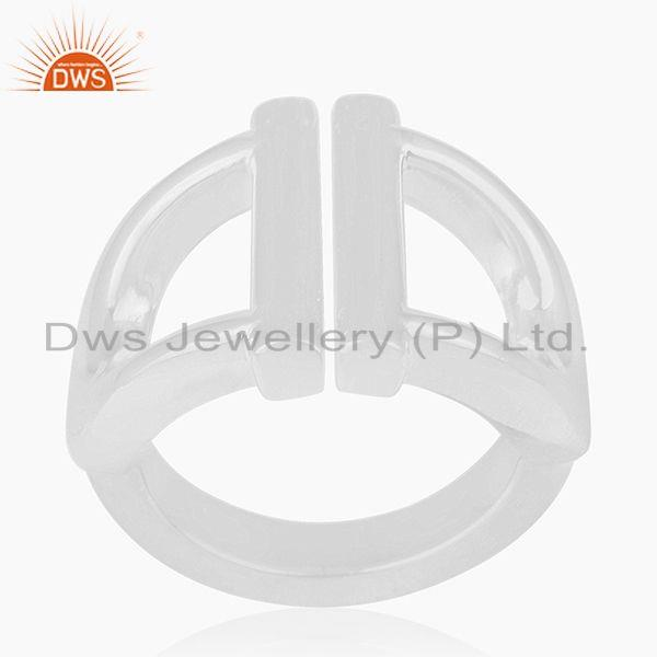 Exporter 925 Sterling Silver Handmade Ring Manufacturer of Wedding Rings