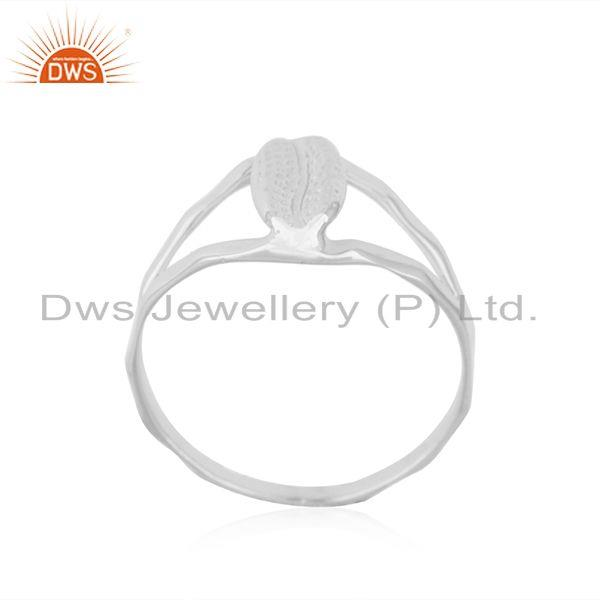 Exporter Indian Handcrafted Fine 92.5 Sterling Silver Ring Manufacturer in India