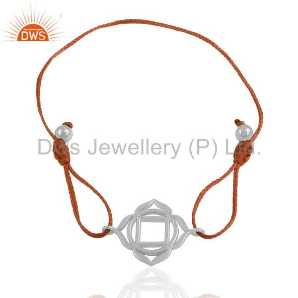 Exporter 925 Sterling Plain Silver Charm Bracelet Jewelry Manufacturer India
