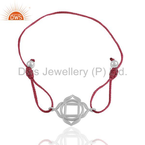 Exporter Designer 925 Plain Silver Charm Bracelet Jewelry Wholesale Supplier