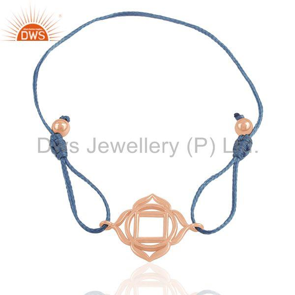 Exporter Rose Gold Plated Indian Charm Bracelet Jewelry Manufacturer from India