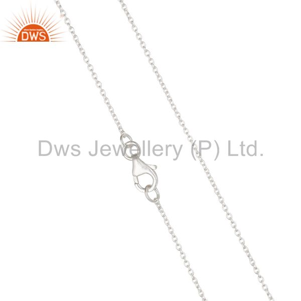 Exporter Solid Sterling Silver Chain Jewelry Assesories Findings