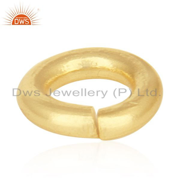 Exporter 18K gold Plated Sterling Silver Link Kadi Assesories and Finding for Jewelry