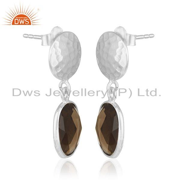 Exporter 92.5 Sterling Silver Earrings Jewelry Manufacturer for Retailers from India
