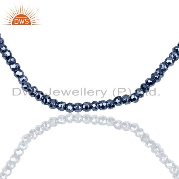 Exporter Tanzanite Pyrite Gemstone Wholesale Fine Silver Chain Necklace Jewelry