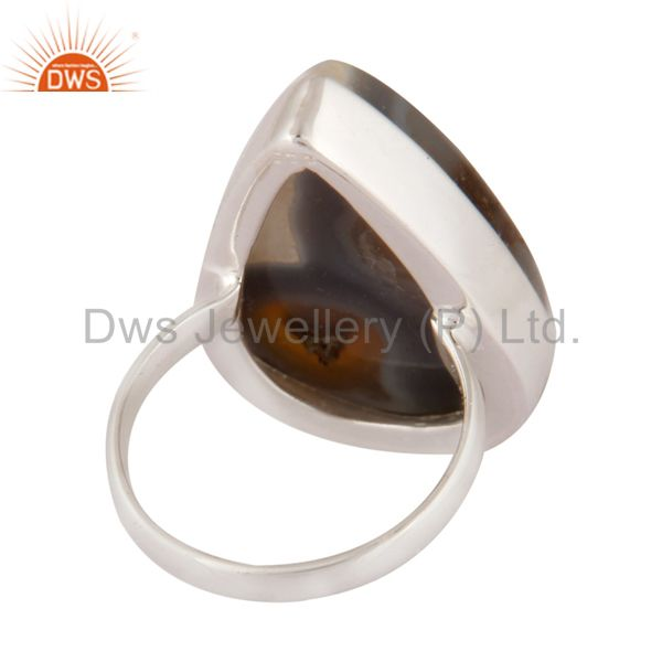 Top Selling Natural Solar Quartz Gemstone Ring Solid 925 Sterling Silver Jewelry Size US 7