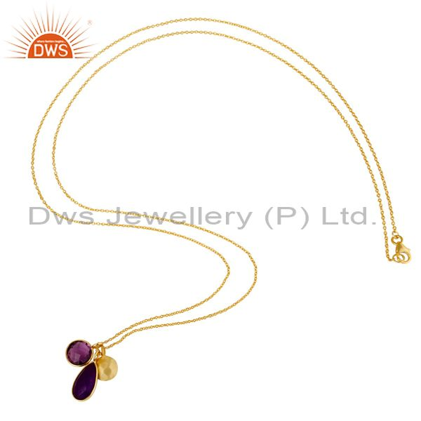 Christmas Pendant And Necklace Gemstone Jewelry