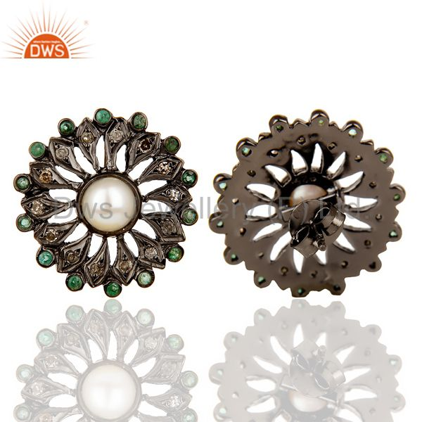 s Earrings Diamond Jewelry From Jaipur India