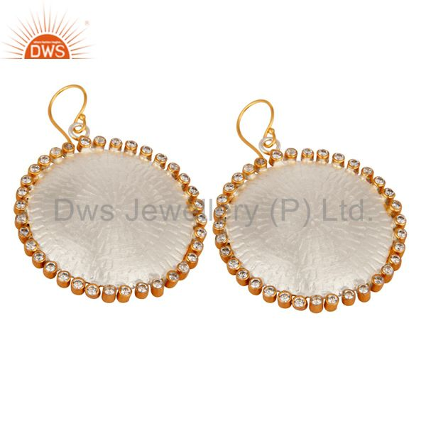 wholesaler White Zircon Girls earring