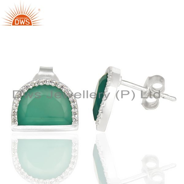 manufacturer Green Onyx earring manufacturer