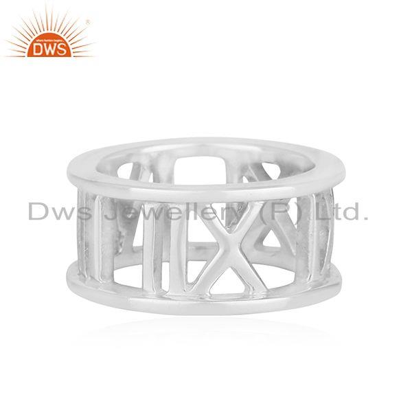 Supplier of Roman Numeral 925 Sterling Silver Wholesale Jewelry in India