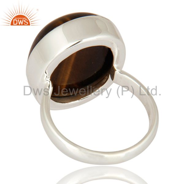 Suppliers Tigereye Artisan Ring Wholesale Sterling Silver Jewelry