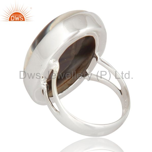 Suppliers Natural Ice Solar Quartz 925 Sterling Silver Ring - Artisan Gemstone Jewelry