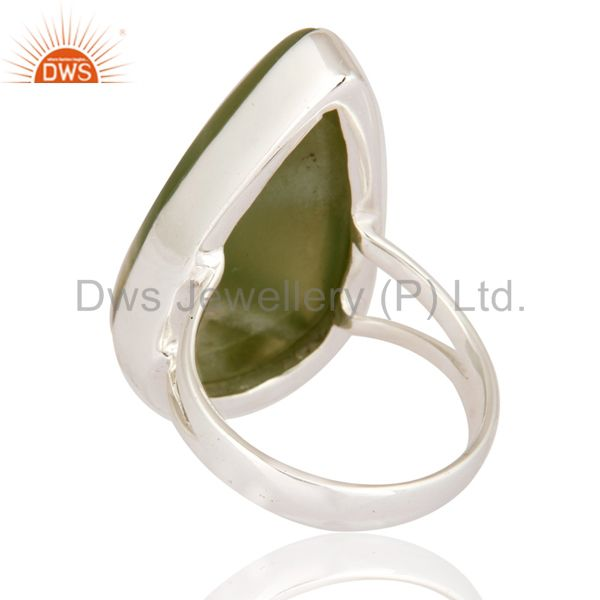 Suppliers Handmade 925 Sterling Silver Lizrite Gemstone Ring Size 8