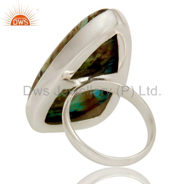 Suppliers Boulder Turquoise Sterling Silver Handmade Gemstone Ring
