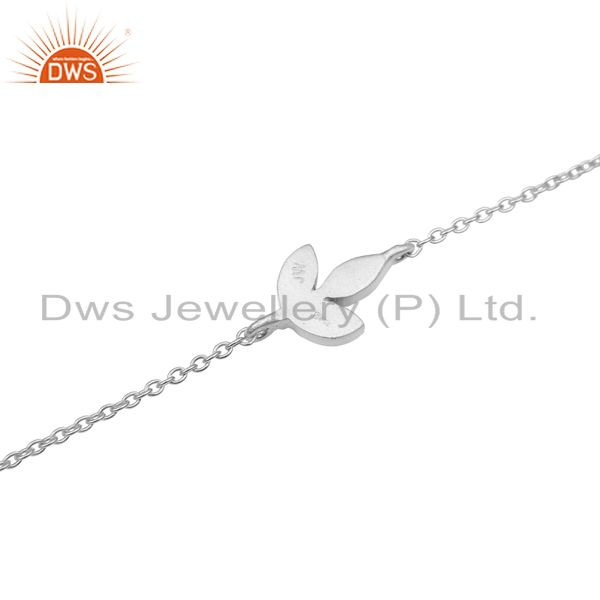Suppliers Chain Link 925 Sterling Silver Handmade Design Chain Bracelet Jewelry