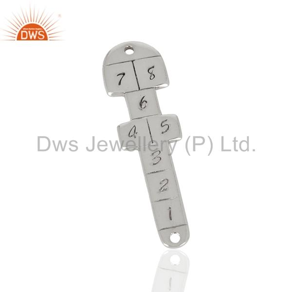 Suppliers 925 Sterling Fine Silver Fashion Charm Connector Jewelry Manufacturer