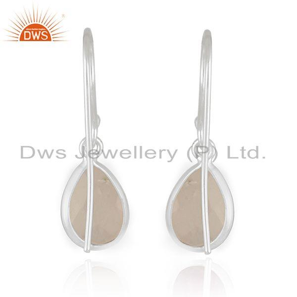 Suppliers Moonstone Rainbow Fine Sterling 925 Silver Girls Earrings Manufacturer