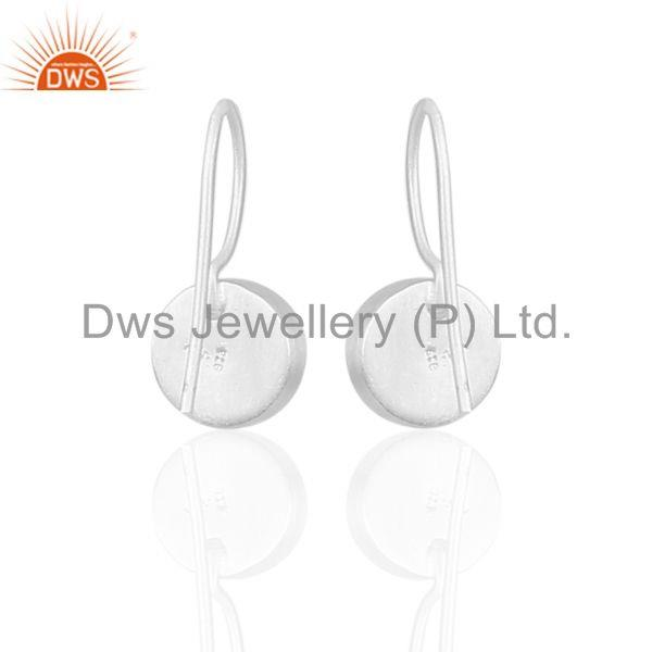 Suppliers Hematite Gemstone 925 Silver Designer Girls Earrings Manufacturer