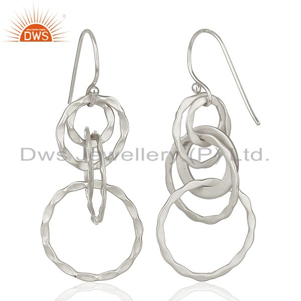 Suppliers Indian Handmade 925 Sterling Silver Earrings Manufacturer India