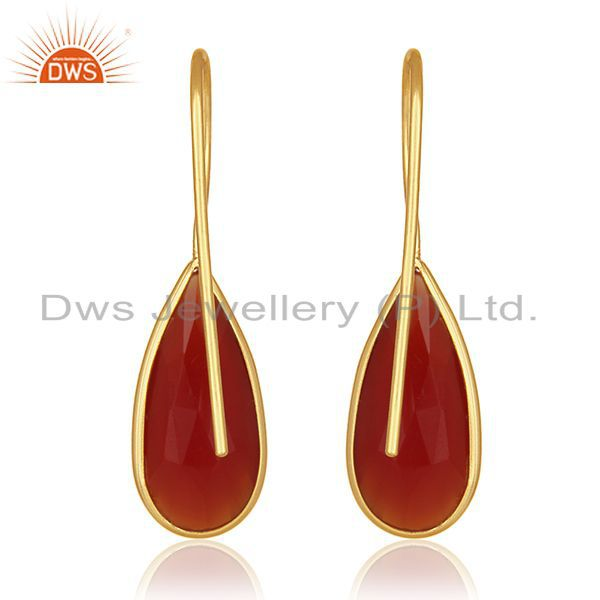 Suppliers Silver Jewelry Manufacturer for Designers 925 Silver Gold Plated Earrings