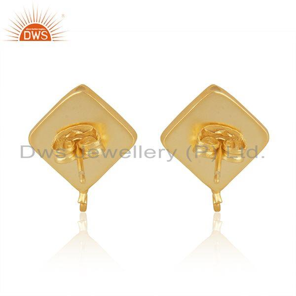 Suppliers Indian 14k Gold Plated Brass Designer Fashion Connector Jewelry Finding